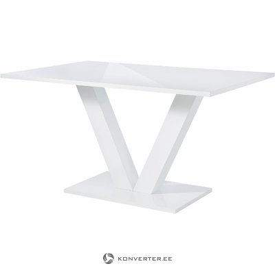 Allen Table fix 140 - White/High Gloss