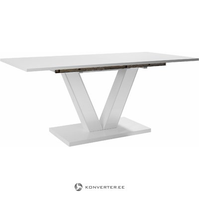 Allen Table 180x90cm - White/High Gloss