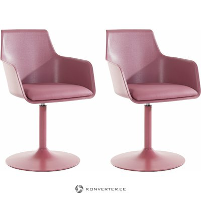 Mario Chair 2 pack - Rose PU