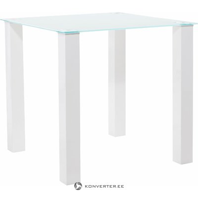 Dante Table white high gloss