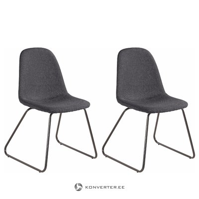 Colombo chair 2 pack - Anthracite
