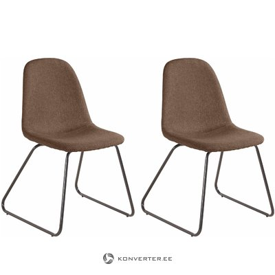 Colombo chair 2 pack - Cappucino