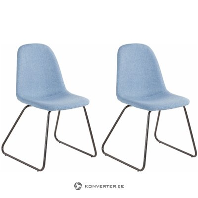 Colombo chair 2 pack - Jeansblue