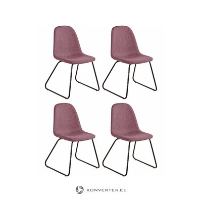 Colombo chair 4pack - Rose