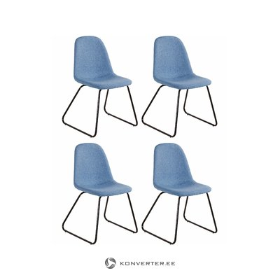 Colombo chair 4pack - Jeansblue