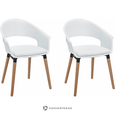 Alto Chair White/oak base