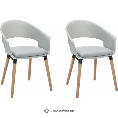 Alto Chair grey/oak base