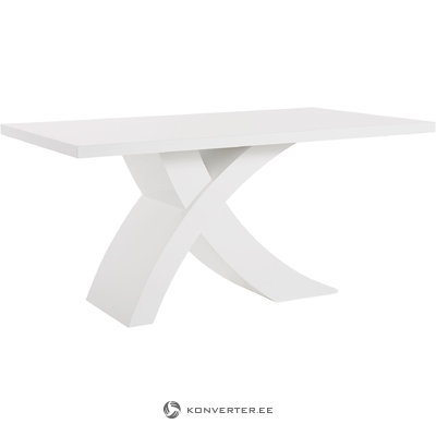 Griffin Table 160x90cm - White/High Gloss