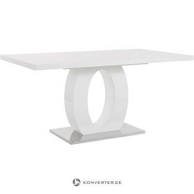 Milo Table 160x90cm- White/High Gloss