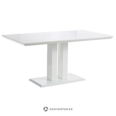 Mulan table - white higHigh Glossloss