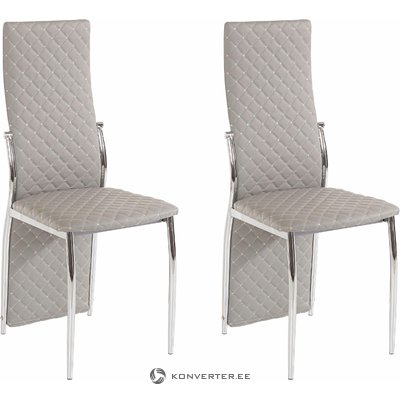 William Chair 2 pack - Grey