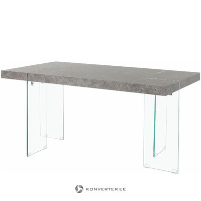 Triton table 160cm - Beton