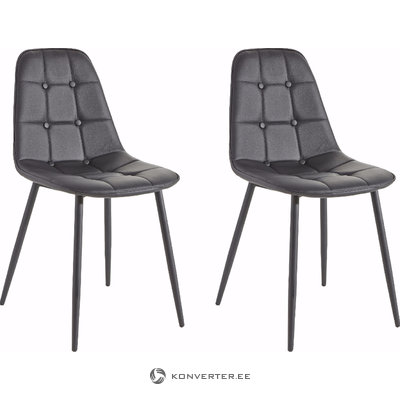 Tito Chair 2 pack - Black