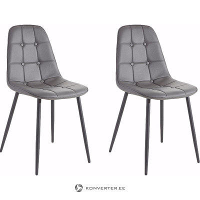 Tito Chair 2 pack - Grey