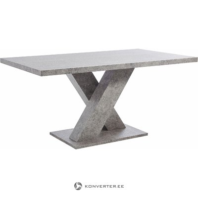 Anton Table cement look