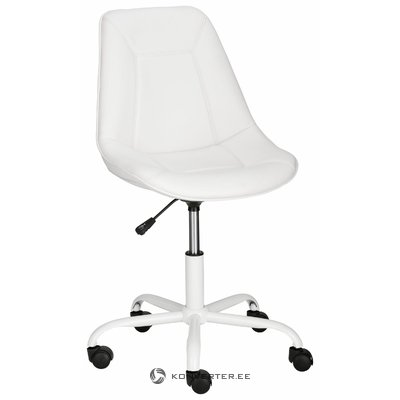Carl Office chair PU - White