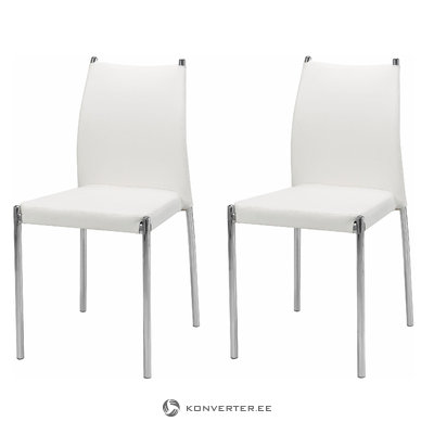 Zulu Chair 2 pieces - White