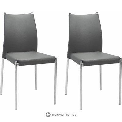 Zulu Chair 2 pieces - Grey