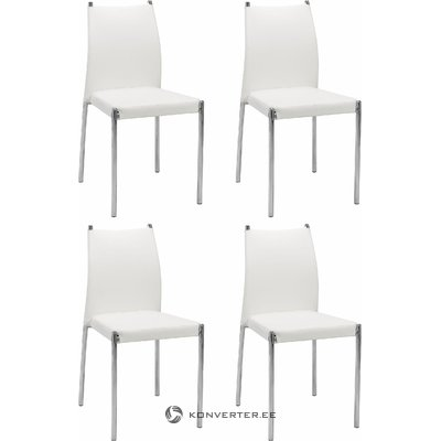 Zulu Chair 4 pieces - White