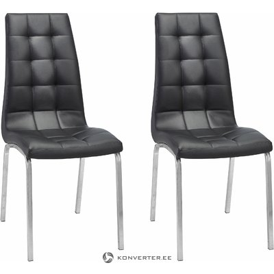 Anima Chair 2 pack - black