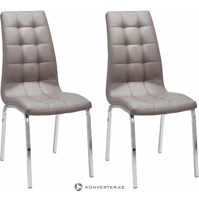 Anima Chair 2 pack - cappucino