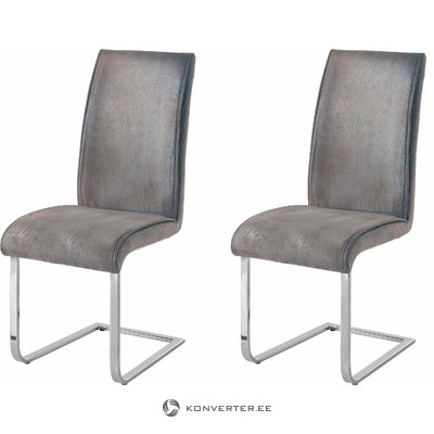 Manto Chair 2 pack - grey light
