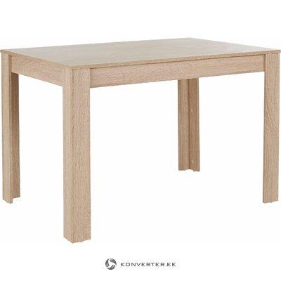 Lori Table 120cm - oak 3 Doors