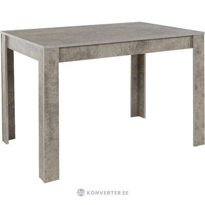 Lori-pöytä 120cm - l. betoni