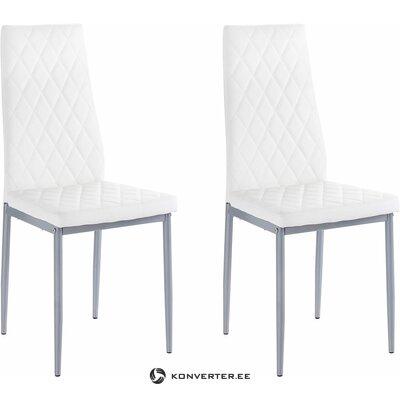 Barak Chair 2 pieces - white