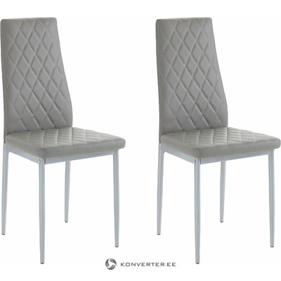 Barak Chair 2 pieces - grey