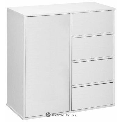 Lancaster sideboard 1 Door+4 Doors - White