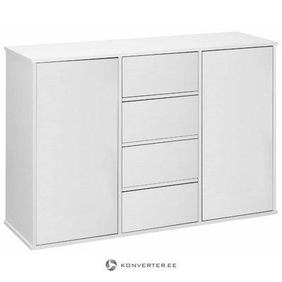 Lancaster sideboard 2 Doors+4 Doors - White