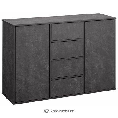 Lancaster sideboard 2 Doors+4 Doors - Beton