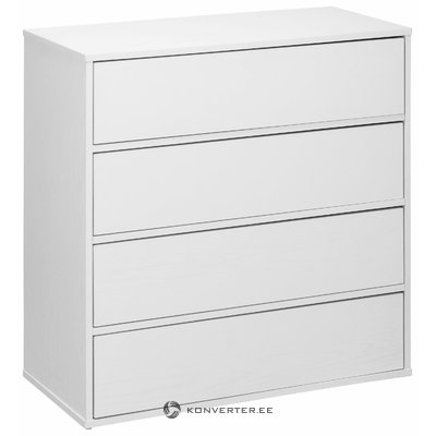 Lancaster Chest 4 Doors - White