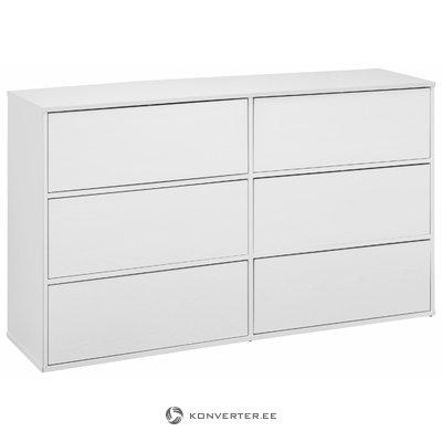 Lancaster Chest 2x3 Drawers - White