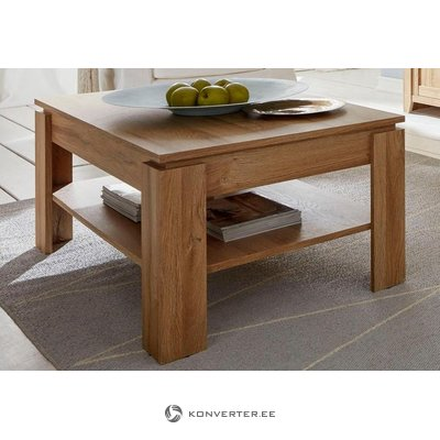 Brown small coffee table with shelf (trendteam) (whole, in box)