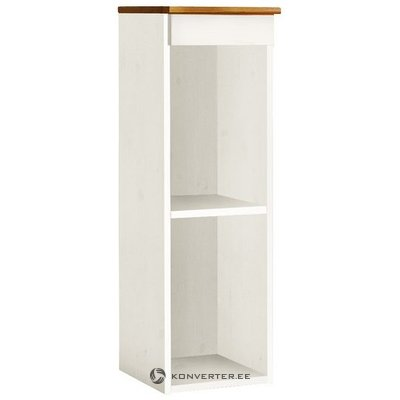 White-brown small wall cabinet