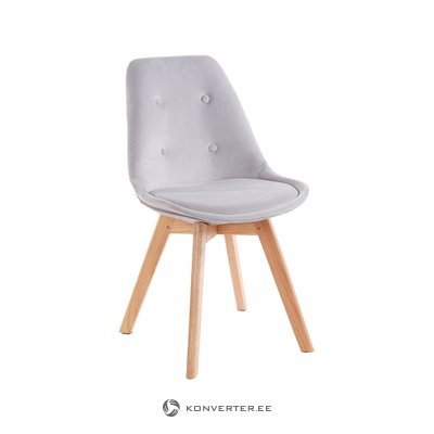 Ohio 2 pack chair - Light grey