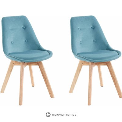 Ohio 2 pack chair - Petrol