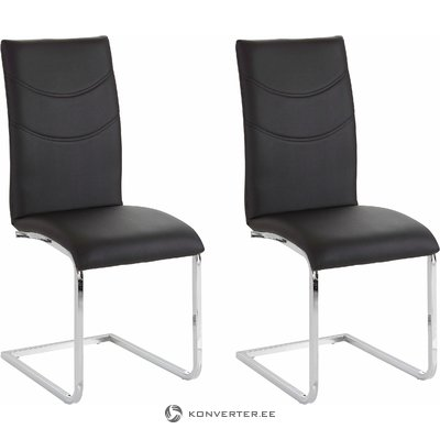 Soto Chair 2 pack - black