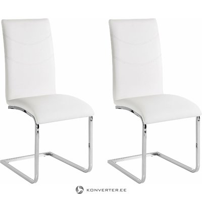 Soto Chair 2 pack - white