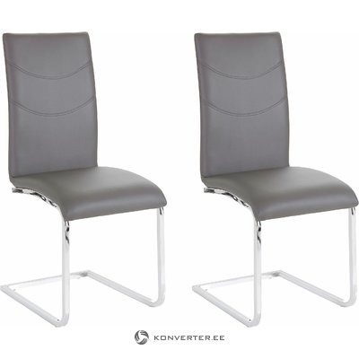 Soto Chair 2 pack - dark grey