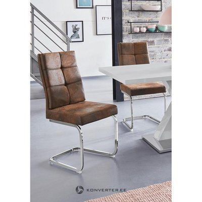 Brown soft chair (lale)