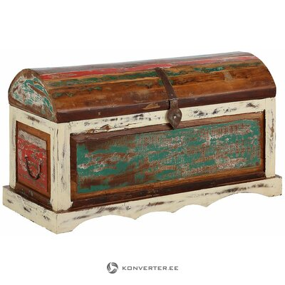 Solid wood storage box (goa)
