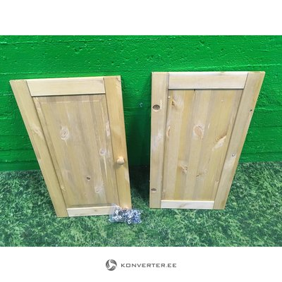 Light Solid Wood Closet Set