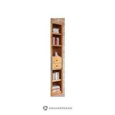 Brown narrow shelf (bergen) (in box, whole)