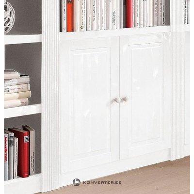Medžio masyvo baltos spintelės durys (bergen)
