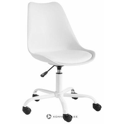 Белый стул офис Донни