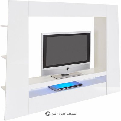 White large high gloss tv cabinet