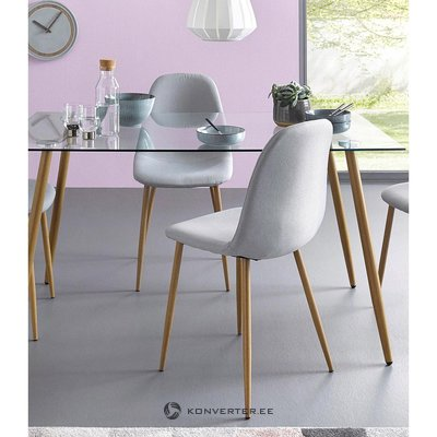 Light gray chair